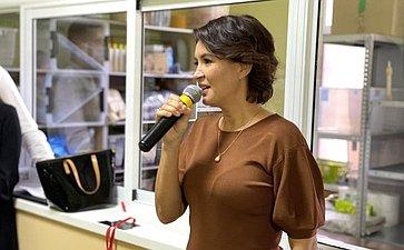 Маргарита Павлова приняла участие воткрытии первого вРоссии медико-профилактического центра для бездомных