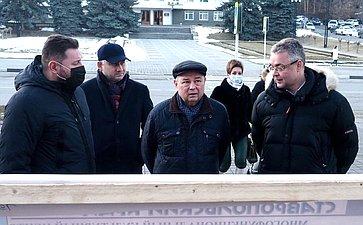 А. Артамонов совершил рабочую поездку вКисловодск