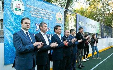 Ирек Ялалов принял участие торжественной церемонии открытия спортивного объекта вУфе