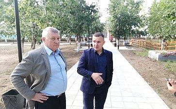 Сергей Михайлов врамках поездки врегион проинспектировал ход реализации федеральных программ вдвух районах Забайкалья