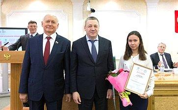 Церемония награждения победителей Всероссийского межвузовского конкурса «Здоровый университет» иконкурса студенческих работ «Будь здоров»