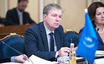 Встреча членов Совета Евразийского женского форума сделегацией Организации Объединенных Наций