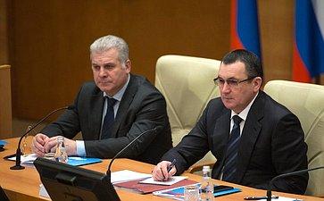 Сенаторы приняли участие взаседании Президиума Совета законодателей при Федеральном Собрании РФ