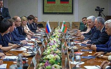 Встреча членов групп посотрудничеству Федерального Собрания РФ иНародного Собрания Республики Болгарии