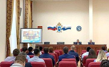 Владимир Полетаев встретился ссотрудниками органов следствия иисполнения наказания Республики Алтай