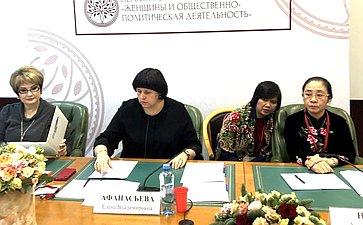 Елена Афанасьева провела Первый Конгресс молодых женщин
