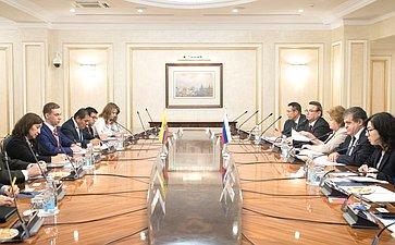 ВСФ состоялась встреча сделегацией Национальной ассамблеи Республики Эквадор