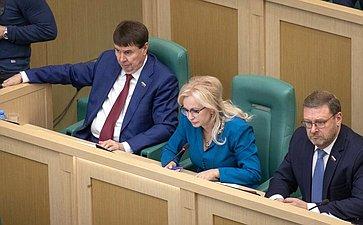 Сергей Цеков, Ольга Ковитиди иКонстантин Косачев