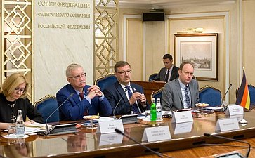 Встреча К. Косачева свице-президентом Бундестага ФРГ В.Кубики
