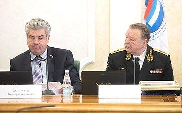 В. Бондарев иВ. Попов