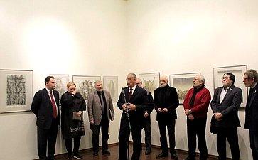 Открытие выставки Народного художника РФ, члена-корреспондента Российской академии художеств Бориса Непомнящего «Годы»