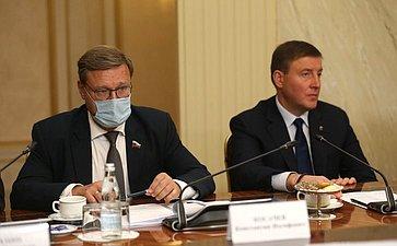 Константин Косачев иАндрей Турчак