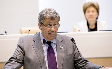 376-е заседание Совета Федерации. Чернецкий
