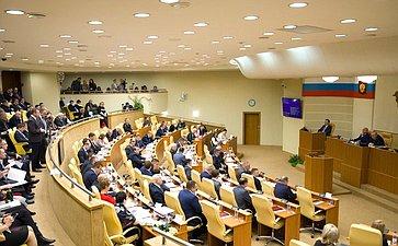 Сергей Рябухин принял участие в20-м заседании Законодательного Собрания Ульяновской области шестого созыва