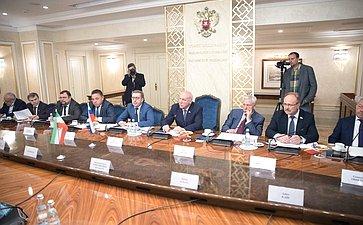 Встреча спредседателем Комиссии поделам экономики Собрания исламского совета Исламской Республики Иран М. Пурэбрахими