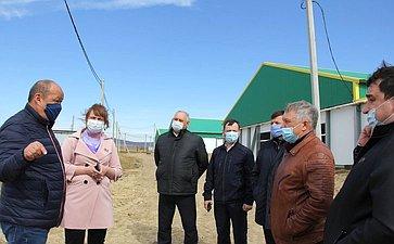 Сергей Михайлов посетил первую кролиководческую ферму вДальневосточном федеральном округе, которая расположена врайоне города Читы