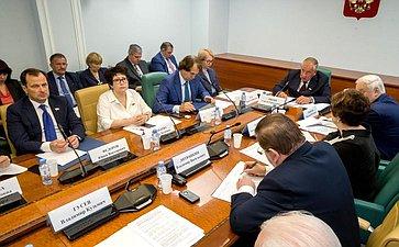 Заседание Временной комиссии СФ повопросам законодательного обеспечения развития машиностроения для пищевой иперерабатывающей промышленности