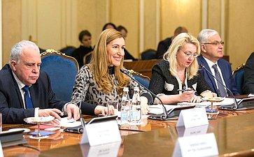 Встреча членов СФ сМинистром туризма Болгарии Николиной Ангелковой