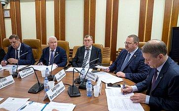 Заседание Комиссии Совета законодателей поделам Федерации, региональной политике иместному самоуправлению