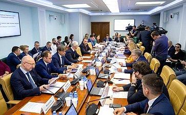 Расширенное заседание Комитета СФ посоциальной политике сучастием Министра спорта РФ О.Матыцина