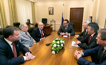 Н. Федоров провел встречу скосмонавтами исотрудниками центра подготовки космонавтов