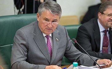 Заседание Комитета общественной поддержки жителей Юго-Востока Украины. Воробьев
