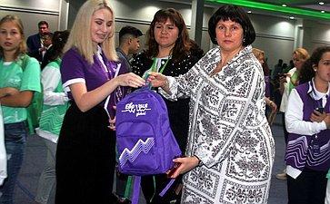 Елена Афанасьева посетила Международный молодежный форум «Евразия Global»