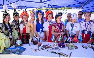 Лагерь Международного культурно-образовательного форума стран СНГ «Дети Содружества»