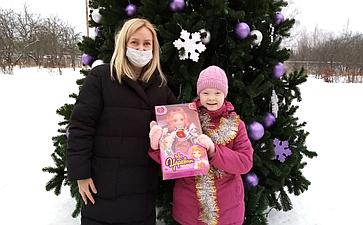 Сергей Мартынов принял участие вновогодней благотворительной акции «Ёлка желаний»