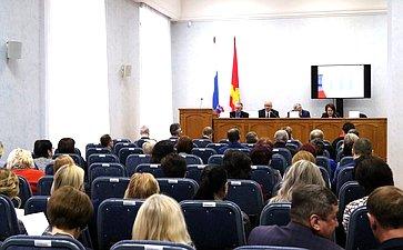 Олег Цепкин принял участие врасширенном заседании Общественного совета проекта «Старшее поколение»