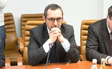 Встреча К. Косачева сЧрезвычайным иПолномочным Послом Португалии вРоссии Паулу Визеу
