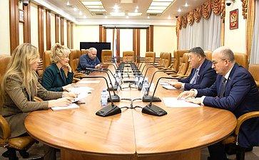 Заседание Временной комиссии СФ помониторингу экономического развития