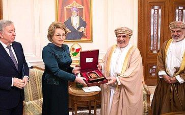 Визит делегации Совета Федерации вСултанат Оман
