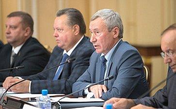 Заседание Временной комиссии СФ позащите государственного суверенитета ипредотвращению вмешательства вовнутренние дела