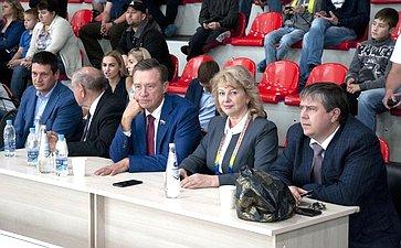 Сергей Рябухин принял участие вцеремонии открытия I Всемирного фестиваля боевых искусств ТАФИСА