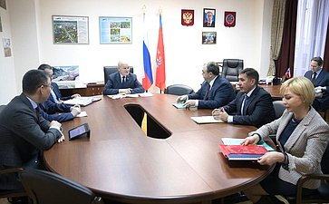 Встреча М. Щетинина спредставителями Ямало-Ненецкого автономного округа