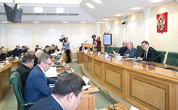 Расширенное заседание Временной комиссии СФ позащите государственного суверенитета ипредотвращению вмешательства вовнутренние дела РФ