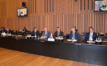 Делегация Совета Федерации воглаве сН. Федоровым участвует вXVIII заседании Ассоциации европейских сенатов