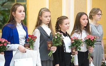 Церемония вручения паспортов врамках проведения Всероссийской акции Мы— граждане Росси