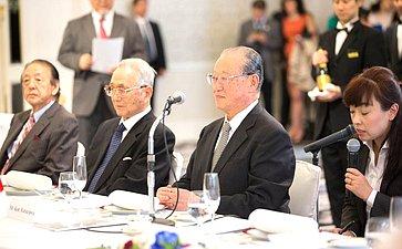 Руководитель «Совета дружественных обменов» Кен Мацудзава