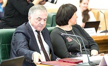 Ю. Бирюков назаседании Комитета Совета Федерации поконституционному законодательству игосударственному строительству