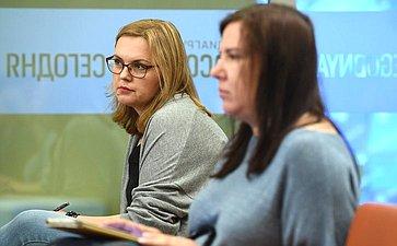 Пресс-конференция председателя Комитета СФ посоциальной политике Валерия Рязанского, посвященная итогам весенней сессии