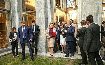 Официальный визит делегации Совета Федерации воглаве сВ.Матвиенко вТурецкую Республику