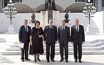 Делегация Комитета СФ поконституционному законодательству игосударственному строительству втаиланде