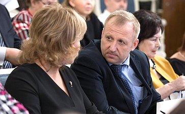 Напарламентских слушаниях натему «Уголовно-процессуальное законодательство Российской Федерации: состояние иперспективы»