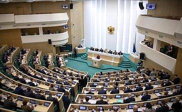 Выступление В. Матвиенко наоткрытии 472-го заседания Совета Федерации
