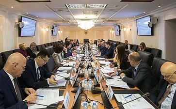 Заседание рабочей группы Совета поделам инвалидов при Совете Федерации
