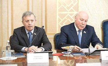 М. Ульбашев иД. Мезенцев