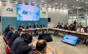 Сенаторы РФ приняли участие вработе «круглого стола» помежрегиональному сотрудничеству врамках форума «KazanSummit 2021»