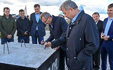 Анатолий Артамонов посетил Хвастовичский район Калужской области